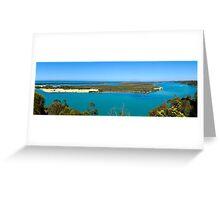 Lakes Entrance Victoria Australia Panorama Greeting Card
