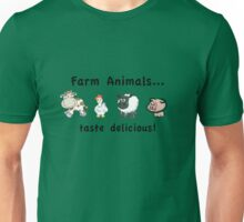 Farm Animals Taste Delicious Unisex T-Shirt