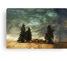 The Homestead Series:  Dustdevil Canvas Print