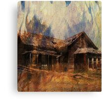 The Homestead Series:  Wildfire Canvas Print