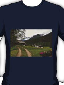 Rural Idyll in Alps T-Shirt