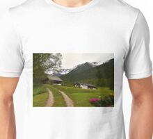 Rural Idyll in Alps Unisex T-Shirt