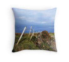 Island Fence Throw Pillow
