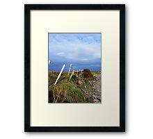 Island Fence Framed Print