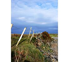 Island Fence Photographic Print