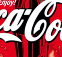 Enjoy Coca Cola Logo Sticker