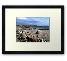 From the Island Framed Print
