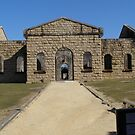Historic Trail Bay Gaol N.S.W. Australia. by Rita Blom