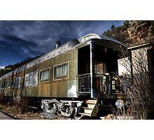 The Train Car Photographic Print