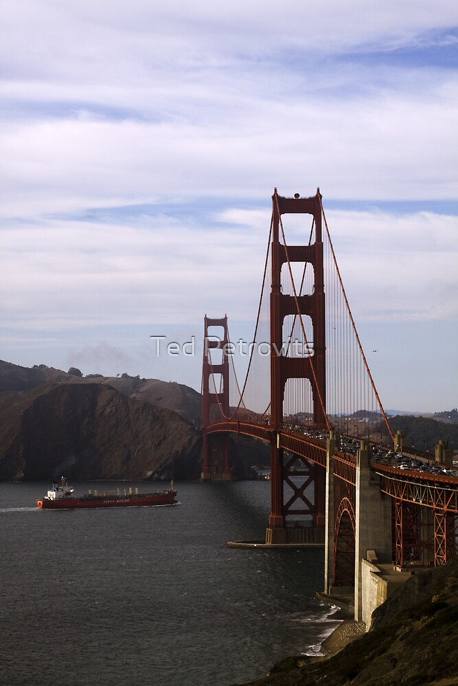 Destination Golden Gate by Ted Petrovits