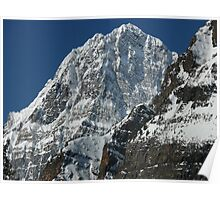 Howse Peak...majesty in the morning Poster