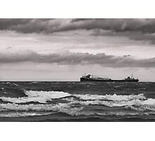Lake Ontario Freighter Photographic Print
