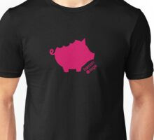 Take a Bite Out of Pig (Pink)  Unisex T-Shirt