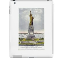 America, Statue of Liberty, Enlightening the World, USA, New York, American iPad Case/Skin