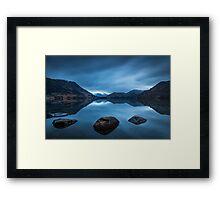 Ullswater before sunrise Framed Print