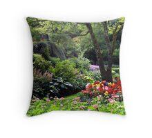Butchart Gardens, Vancouver Island, Canada Throw Pillow