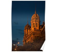 Budapest at night Poster