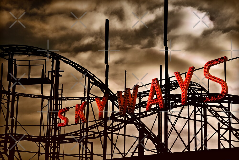 Skyways Coaster by Corbin Adler