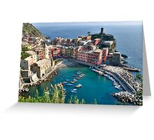 Vernazza, Cinque Terre, Italy Greeting Card