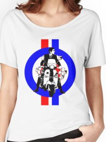 Sixties Mod Rider stripes Women's Relaxed Fit T-Shirt