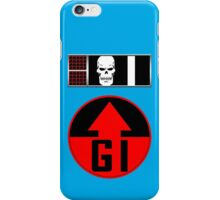 Helm BioChip and GI Badge iPhone Case/Skin