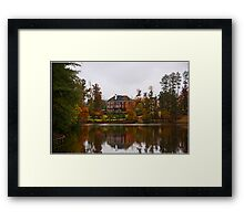 Lakefront Property Framed Print