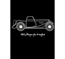 1952 Morgan Plus 4 drophead  design Photographic Print