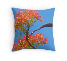 Reaching for the Sky. Throw Pillow