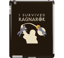 I Survived Ragnarok (wolves) iPad Case/Skin