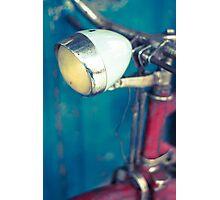 Bicicleta en el Rastro de Madrid. Photographic Print