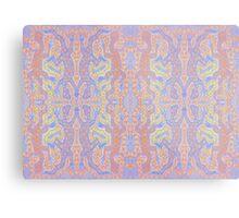 Fluorescent Pastel Aborigine Metal Print