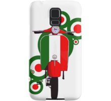 Italian decal scooter on roundals Samsung Galaxy Case/Skin