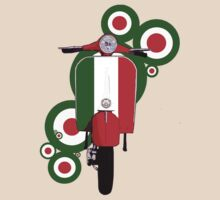 Italian decal scooter on roundals by Auslandesign