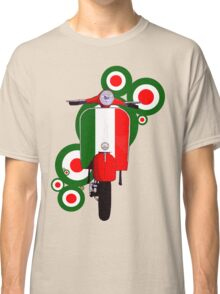 Italian decal scooter on roundals Classic T-Shirt