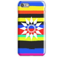Colorful line trendy pattern iPhone Case/Skin