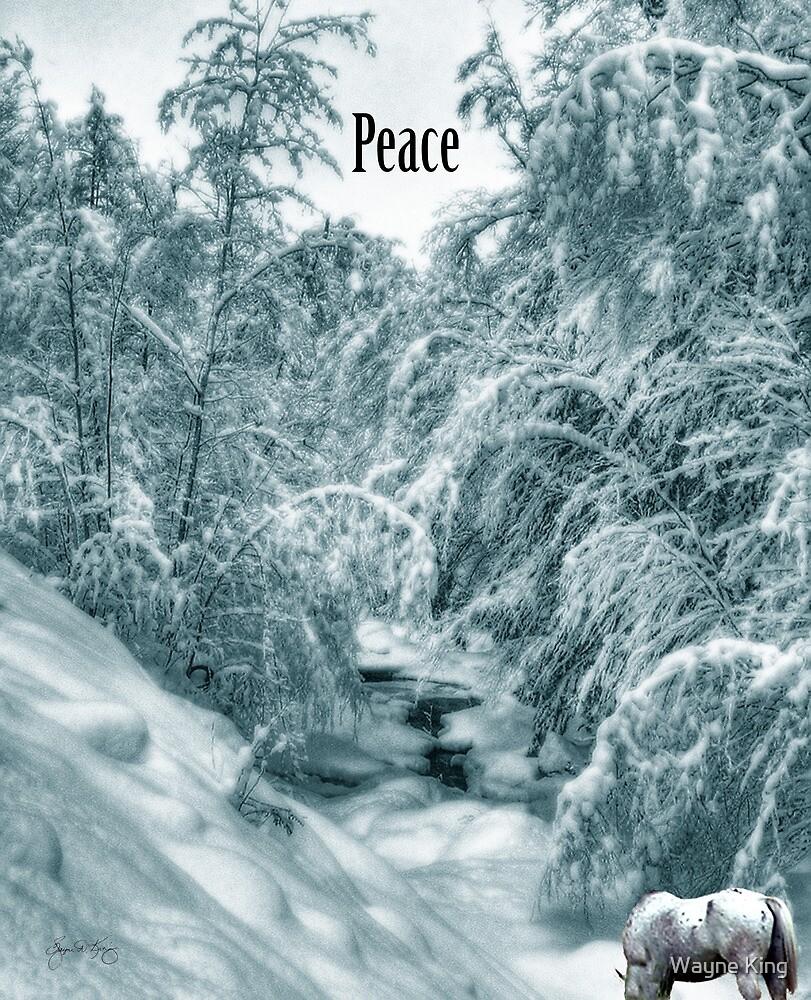 Peace on Hall's Brook by Wayne King