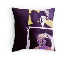Meet Magritte. Throw Pillow