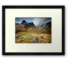 Scotland : Shadow of Glencoe Framed Print