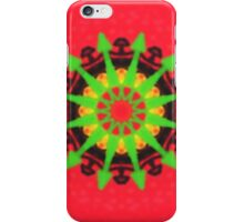 Colorful kaleidoscope modern pattern iPhone Case/Skin
