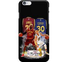 Lebron James vs Stephen Curry iPhone Case/Skin