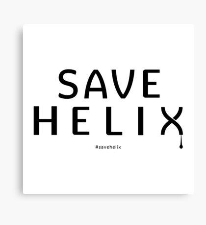 Save Helix Canvas Print