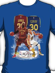 Lebron James vs Stephen Curry T-Shirt