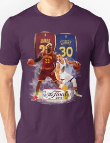 Lebron James vs Stephen Curry Unisex T-Shirt