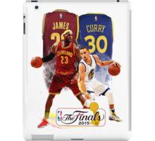 Lebron James vs Stephen Curry iPad Case/Skin