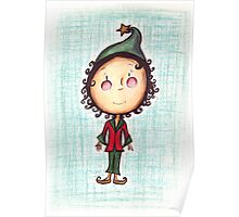 Little Christmas Elf Poster