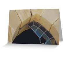Ruined Church Window - Greendale Half Church Greeting Card