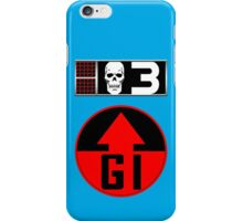 Bagman BioChip and GI Badge iPhone Case/Skin