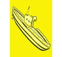 A Yellow Submarine design Photographic Print