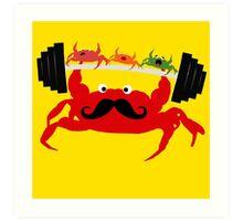 Mr. Crab Art Print
