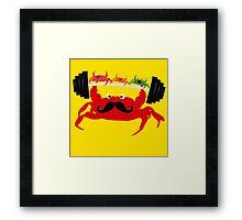 Mr. Crab Framed Print